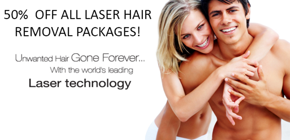 Laser Hair Removal Promo Banner